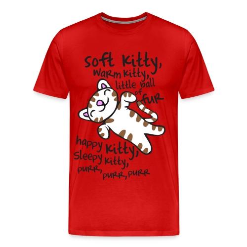 soft kitty - Men's Premium T-Shirt