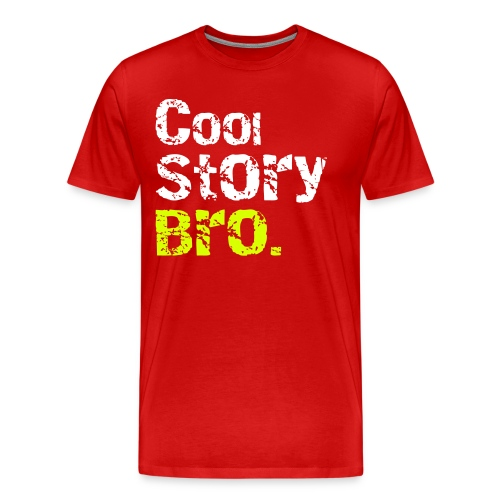 cool story - Men's Premium T-Shirt