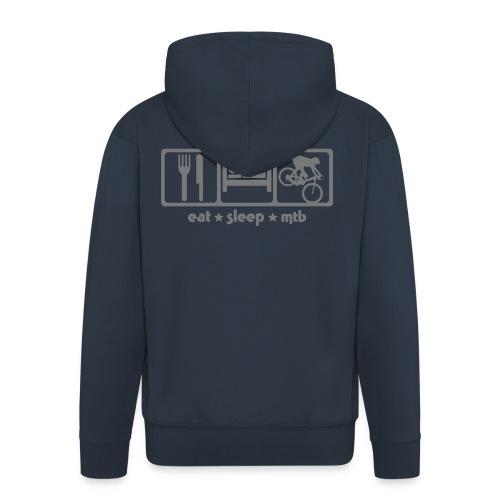 M-MTB hoodie - Mannenjack Premium met capuchon