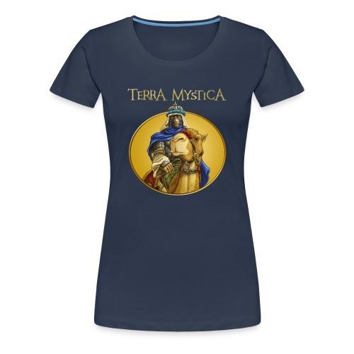 Shirt Nomaden [FEU-TER-NOM-001] - Frauen Premium T-Shirt