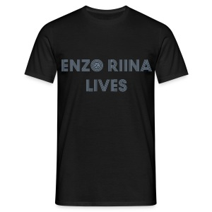 Enzo Riina Lives Silver - T-shirt Homme