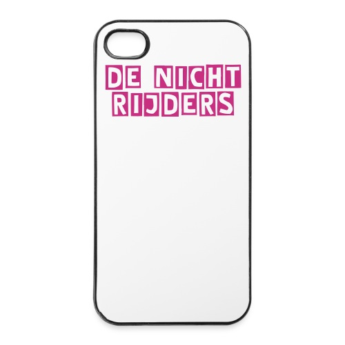 De Nicht Rijders Case (4/4s) (White) - iPhone 4/4s hard case