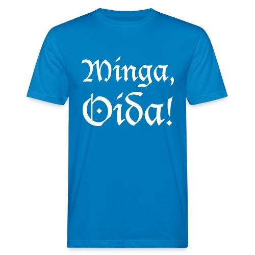 Minga, Oida - Männer Bio-T-Shirt