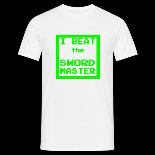 I beat the sword master - Men's T-Shirt