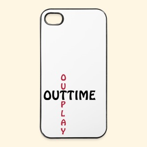 iPhone 4/4S Hard Case - outtime, outplay - iPhone 4/4s Hard Case