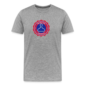 Emblem: Midlife Gamer - Men's Premium T-Shirt