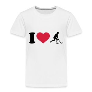 I love Floorball T-Shirts - Kinder Premium T-Shirt
