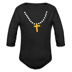 And I said Ma'am I am tonight - Organic Longsleeve Baby Bodysuit