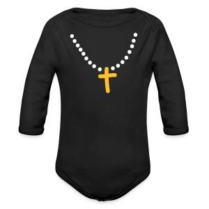 And I said Ma'am I am tonight - Organic Longsleeve Baby Bodysuit