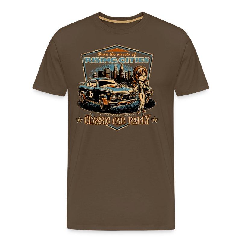 Classic Car Rally Event - Männer Premium T-Shirt
