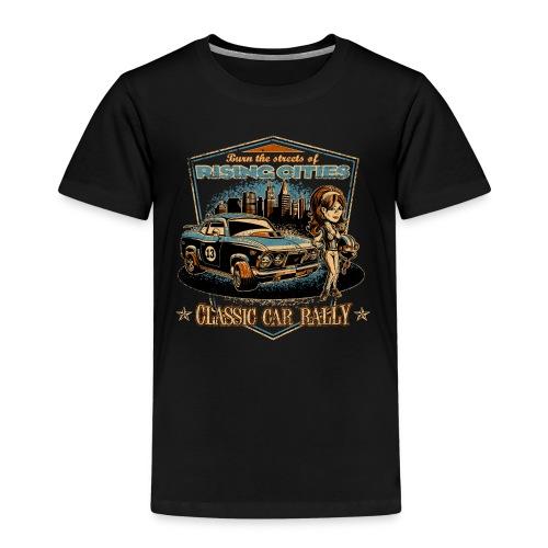 Classic Car Rally Event - Kinder Premium T-Shirt