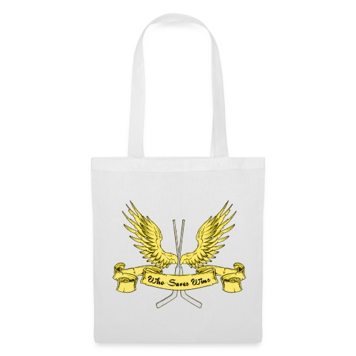 Who Saves Wins, Hockey Goalie Tote Bag - Tote Bag