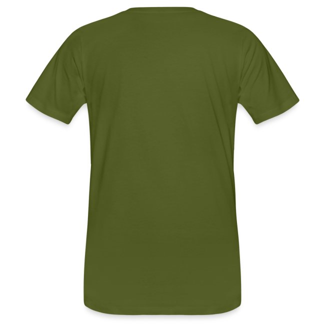 Eulenblick 3farbig (oliv) Flockdruck --------------------------------------------------------------