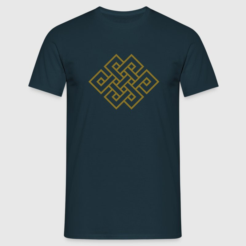 Tibetan endless knot, eternal, infinity, celtic Tee shirts - T-shirt Homme
