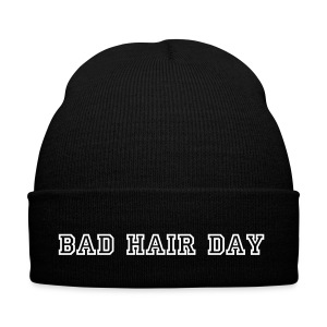 Bad Hair Day Wintermuts Witte-Letters. - Wintermuts