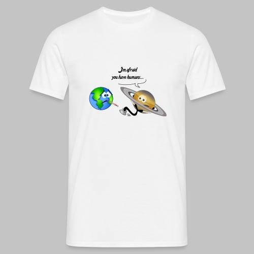 T-shirt homme (man) Sick Earth - Men's T-Shirt