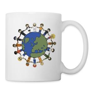 Der ganze Weltfrieden auf einer Tasse - Tasse
