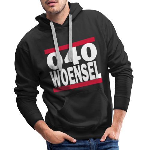 Woensel - 040 Hoodie - Mannen Premium hoodie