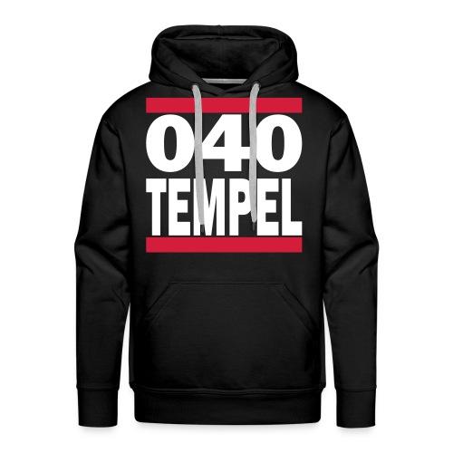 Tempel - 040 Hoodie - Mannen Premium hoodie