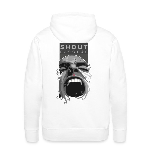 Shout Records Hooded Sweatshirt  - Men's Premium Hoodie