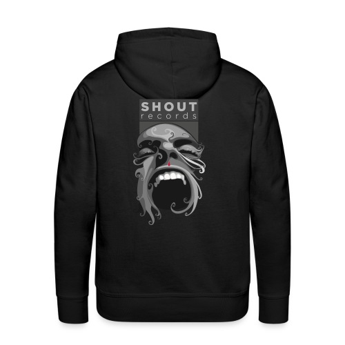 Shout Records Hooded Sweatshirt  - Men's Premium Hoodie