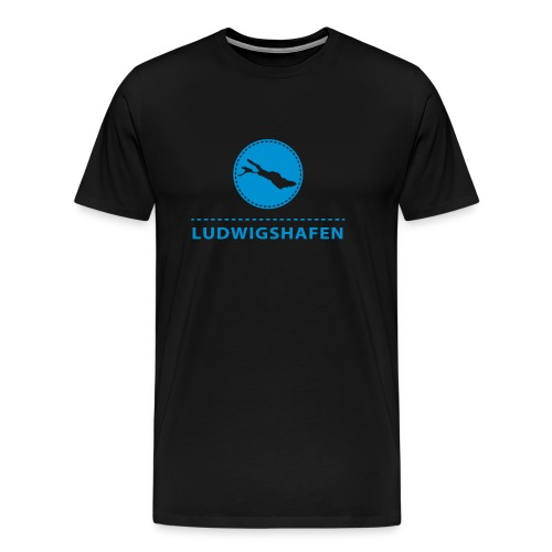 MEN Ludwigshafen flex blau - Männer Premium T-Shirt