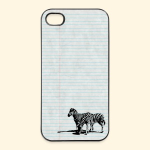 iPhone 4/4S Hard Case - grasende Zebras - iPhone 4/4s Hard Case