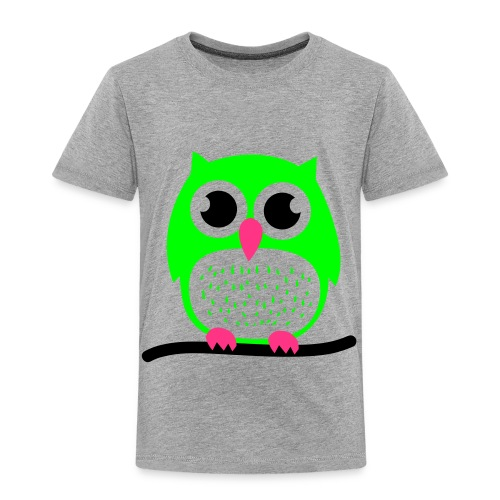 uilen shirt grijs - Kinderen Premium T-shirt