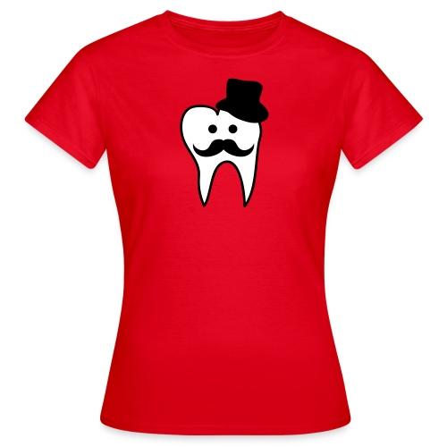 Zahnmoustache - Frauen T-Shirt
