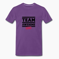 Team Awesome Member T-Shirts