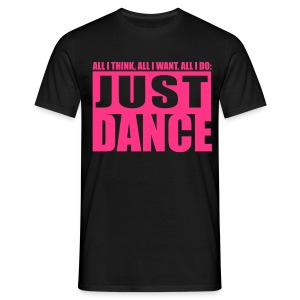 [JUST DANCE] noir - Men's T-Shirt