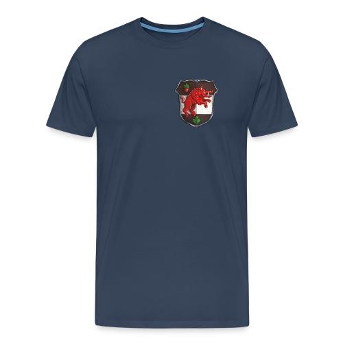 Shirt Rot [FEU-GLA-ROT-001] - Männer Premium T-Shirt