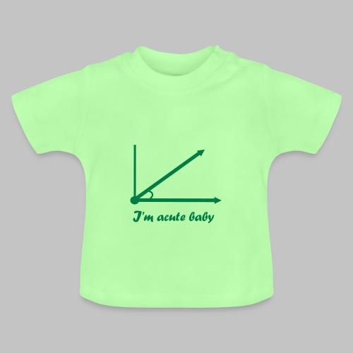 T-shirt bébé (baby) Acute baby - Baby T-Shirt