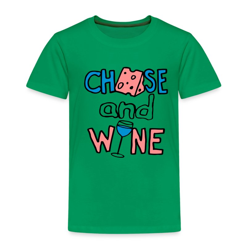 CHEESE  and WINE - Kids' Premium T-Shirt