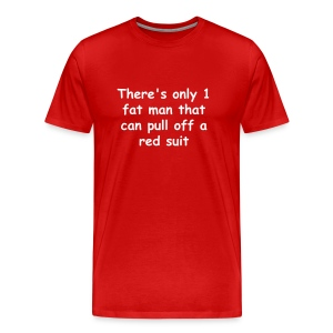 Red Suit - Men's Premium T-Shirt