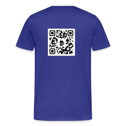 QRBeer Saison2 dos - T-shirt Premium Homme