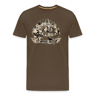 T-Shirts ~ Männer Premium T-Shirt ~ Your City Needs You