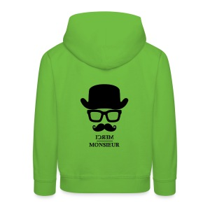 Monsieur so trend #Kids - Pull à capuche Premium Enfant