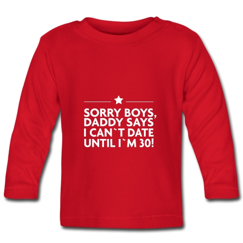 Sorry Boys! - Baby Langarmshirt