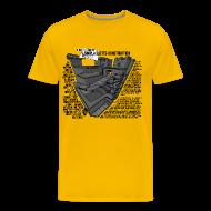 T-shirts ~ Premium-T-shirt herr ~ Jacobs simpla slotts-konstruktion