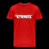 T-shirts ~ Premium-T-shirt herr ~ STAMSITE Logo