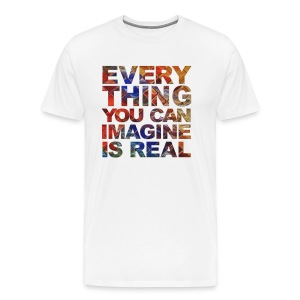 Imagine Mens Top - Men's Premium T-Shirt