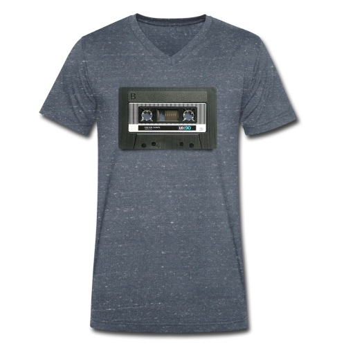vintage tape: position normal - Men's Organic V-Neck T-Shirt by Stanley & Stella