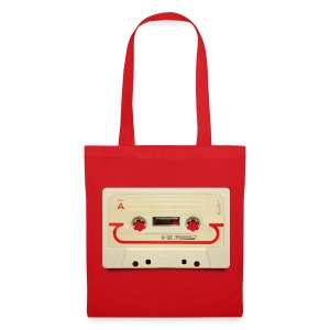 vintage tape: compact cassette - Tote Bag
