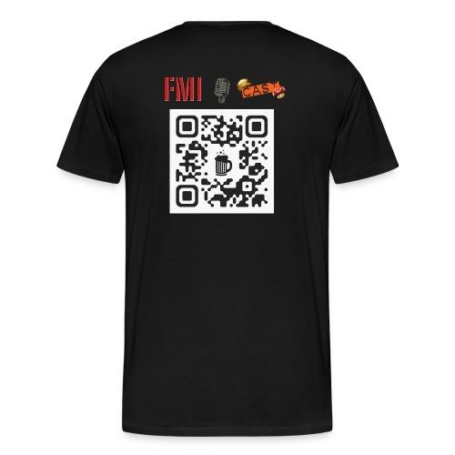 QRBeer Saison1 Dos - T-shirt Premium Homme