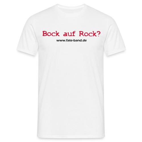 f.a.t.e. Männer Standard T-Shirt weiß - Männer T-Shirt