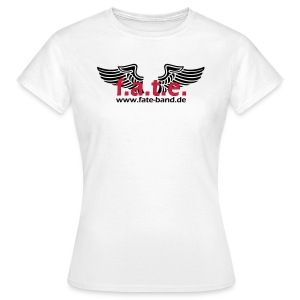 f.a.t.e. Frauen Standard T-Shirt weiß - Frauen T-Shirt