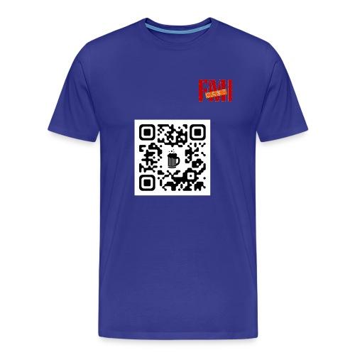 QRBeer Face Saison2 - T-shirt Premium Homme