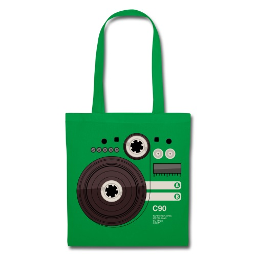 Tape parts: C90 - Tote Bag
