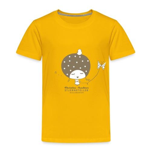 STJERNETELLER-GULLAMANTER - Premium T-skjorte for barn